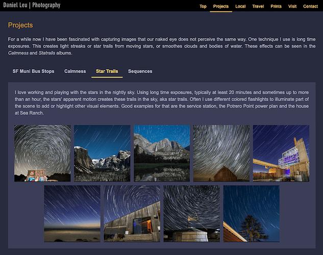 dlp single event page